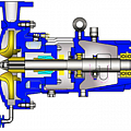 Pumps for the petrochemical, oil refining, gas and energy industries
